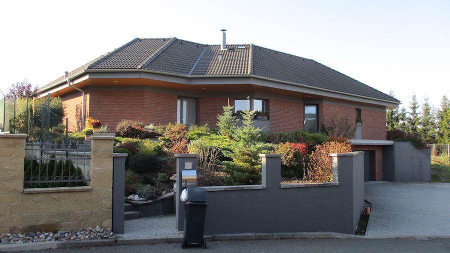 Rodinný dům Kralupy nad Vltavou, U Křížku 1, realizace 2008